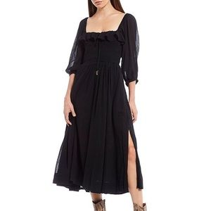 NWOT never worn FP endless summer midi dress